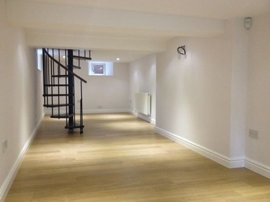 Basement Conversion Into Additional Living Space