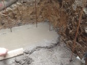 Basement Conversion Added Living Space and Luxury Shower Laying Screed Flooring