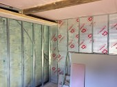 Basement Conversion Added Living Space and Luxury Shower Waterproofing And Insulation