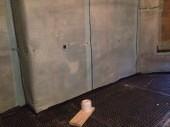 Intalling the waterproofing membrane to the floor