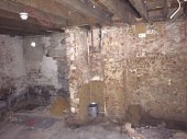 Prior to the start of the basement conversion