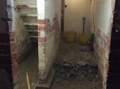Basement Conversion in Pudsey for Additional Family Rooms Initial Works