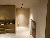 Basement Conversion in Pudsey for Additional Family Rooms Plastered