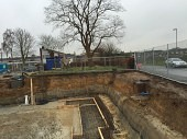 Basement Waterproofing and Tanking for Commercial New Build Prior To Start