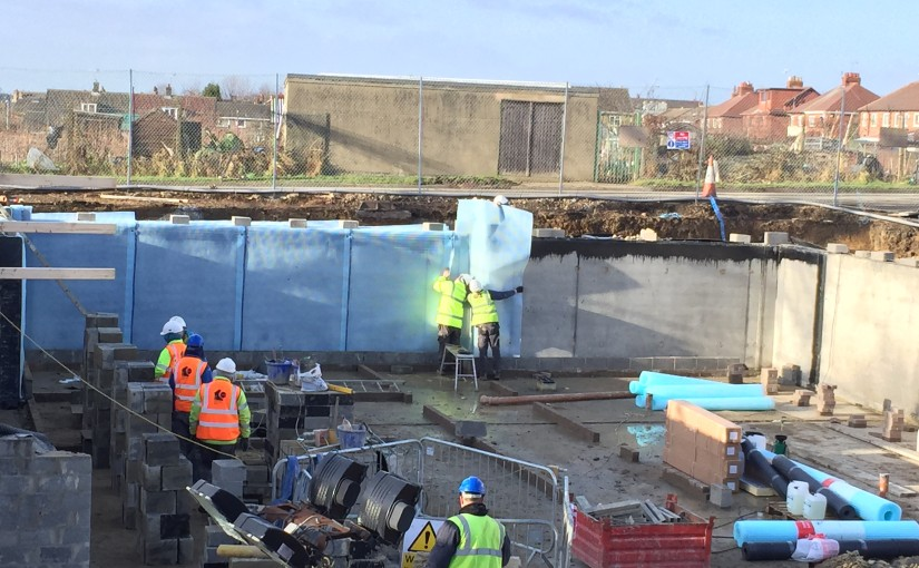 Basement Waterproofing and Tanking for Commercial New Build Waterproofing