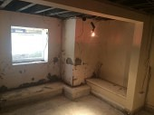 Prior to the Commencement of the Basement Conversion