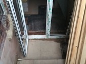 Installation of new patio doors to the basement