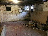 Before works to the basement conversion