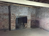 Prior to the basement conversion
