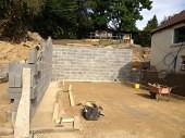 Cellar Tanking Leeds - New Build Basement Waterproofing Before