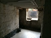 Leeds Cellar Conversion - Wet Cellar to Basement Living Room Before