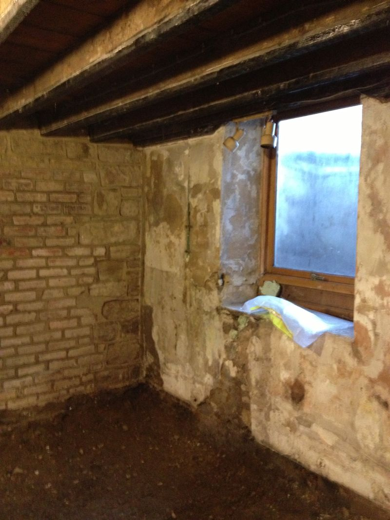 Conversion of wet basement in otley to ensuite bedroom for Basement to bedroom conversion