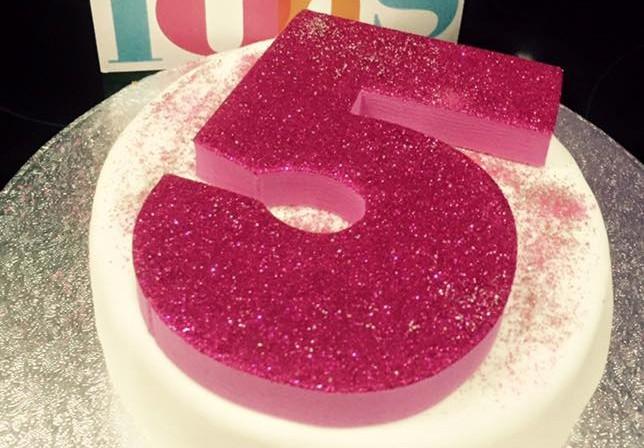 5th Birthday Party Cake